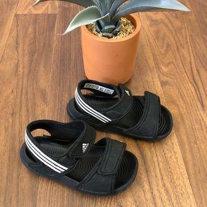 Adidas kids strap sandals, 7